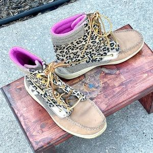 🔮MAKE OFFER🔮SPERRY TOP-SIDER High Top Lace Boots